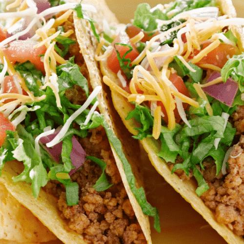 Easy ground turkey tacos